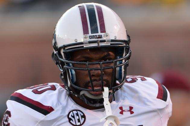 VIDEO: South Carolina DE Chaz Sutton's