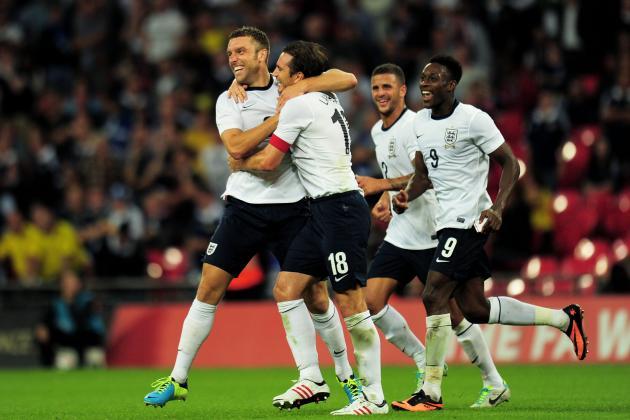 England vs. Chile: International Friendly Live Score, Highlights, Recap