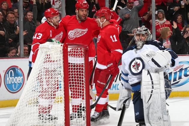 Detroit Red Wings Vow That Hard Work Will End Home Winless Streak