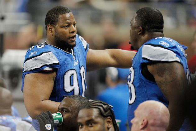 Lions' Fairley and Suh Feel Less-Than-Savory Rep Is Overblown