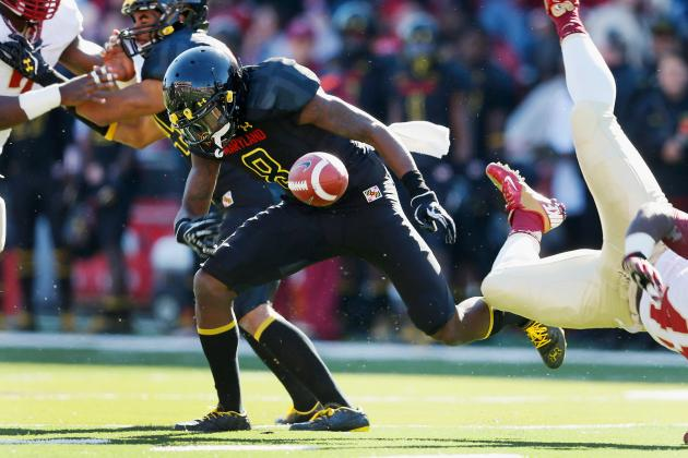 Two More Wideouts Sidelined for Terps, Receiving Corps Trimmed to Five