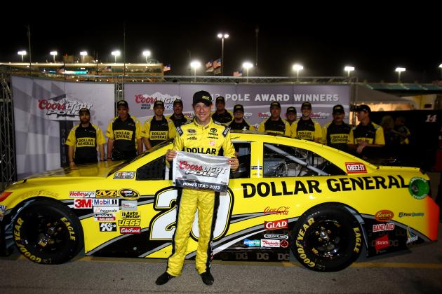 Matt Kenseth Wins Homestead Pole, Keeps Championship Hopes Alive