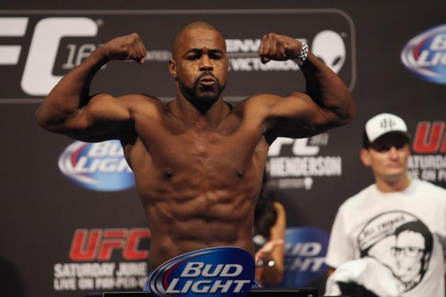 UFC 167 Weigh-in Results: Rashad Evans vs. Chael Sonnen