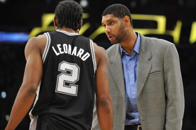 Five Spurs on 2014 All-Star Ballot