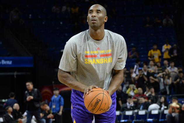 Kobe Bryant: 'If There Was a Playoff Game Tonight, I'd Play'