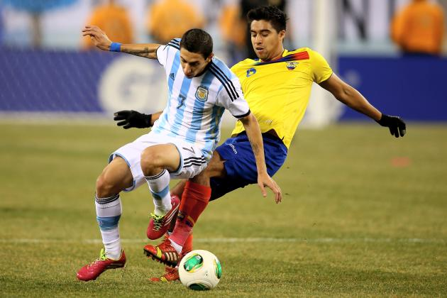 Argentina vs. Ecuador: International Friendly Live Score, Highlights, Recap