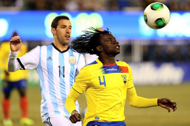 Argentina vs. Ecuador Score, Grades and Post-Match Reaction