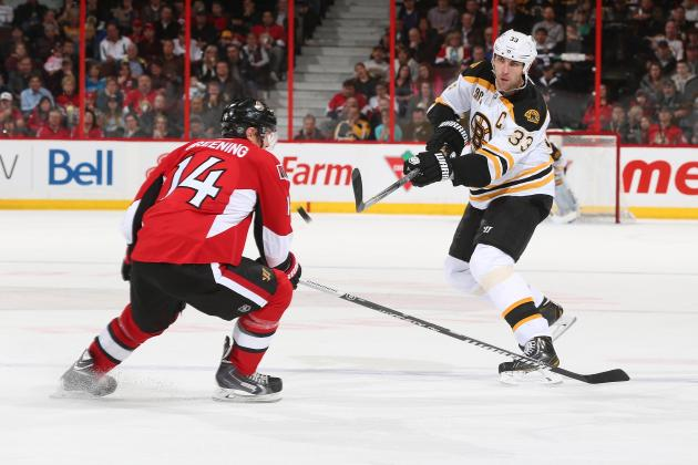 Bruins Fall to Senators  4-2 with Lackluster Third Period