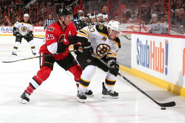 Senators Score Four Unanswered to Beat Bruins