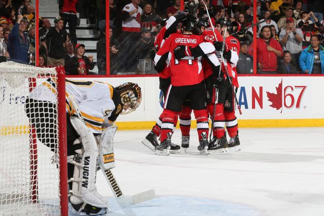 Ottawa Senators Mount Comeback to Quell Boston Bruins