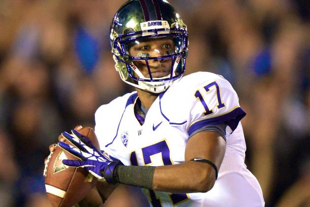 Keith Price Injury: Updates on Washington QB's Shoulder, Likely Return Date