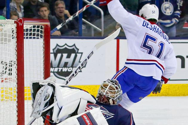 Desharnais' Shootout Goal Lifts Canadiens, 3-2