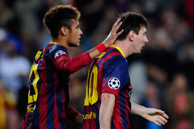 Neymar's Time to Shine Under Barcelona Spotlight in Lionel Messi's Absence
