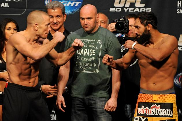 UFC 167: Live Blog for Georges St-Pierre vs. Johny Hendricks Main Event