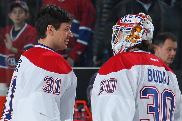 Carey Price Plays Foosball with Peter Budaj