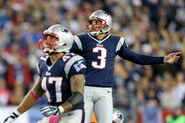 Gostkowski's Getting His Kicks . . . Quietly