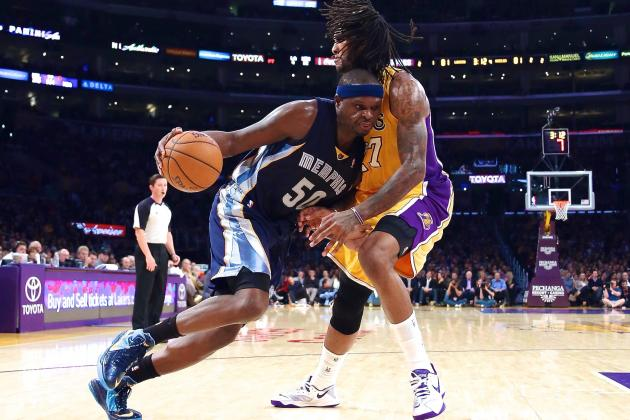 Memphis Grizzlies Latest Team to Slow Los Angeles Lakers' Pace to a Crawl