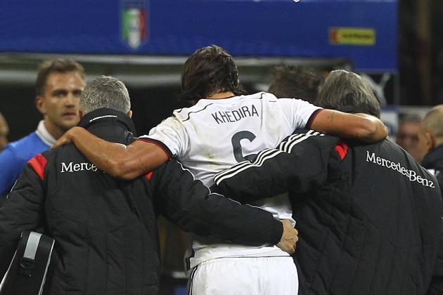 Sami Khedira Injury Creates Question Marks for Real Madrid and EPL Transfer Talk