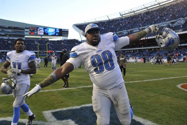 Detroit Lions' DTs Called Dirty; 'You Got to Take Pride,' Responds Nick Fairley
