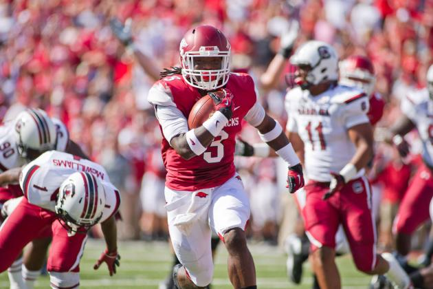 Arkansas Football: Alex Collins Could Be Better Than Darren McFadden