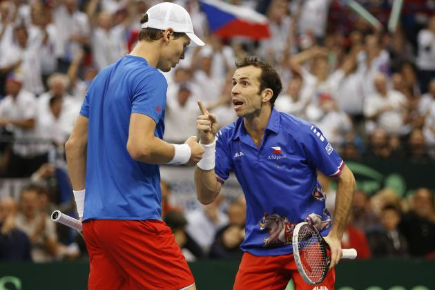 Davis Cup Final 2013: Day 2 Scores and Results for Serbia vs. Czech Republic