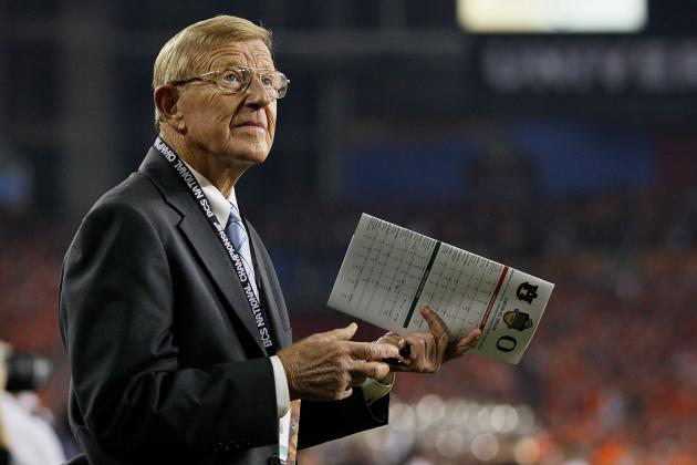 "Video: Lou Holtz Calls out Mark May for ""Being Against Ohio State"""