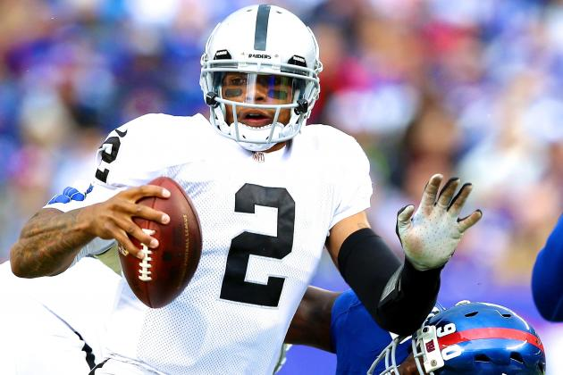 Terrelle Pryor Injury: Updates on Raiders QB's Knee, Likely Return Date