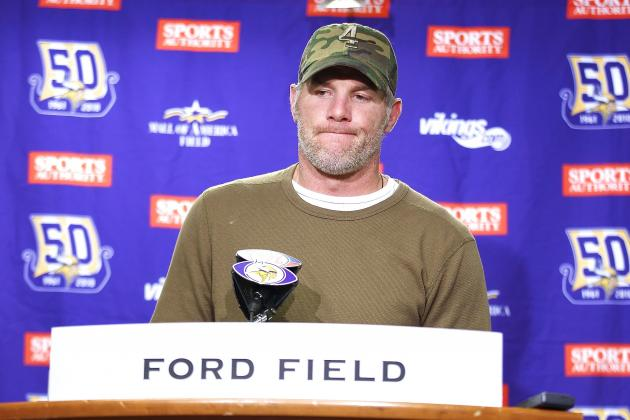 Brett Favre Talks Allowing a Son to Play Football, Jonathan Martin Bullying Saga