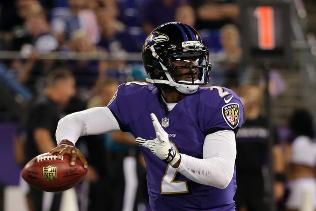 Tyrod Taylor Awaits His Chance to 'Be a Monster' for Ravens