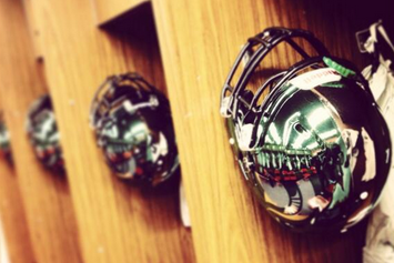 Photos: Michigan State Is Bringing out the Chrome Helmets Today