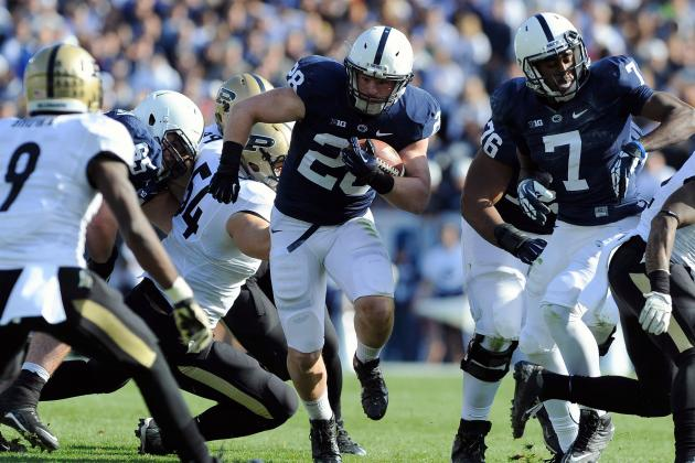 Penn State Running Backs Proving They Hold Key to Fast Finish