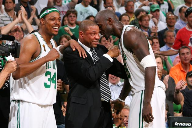 Does Doc Rivers or Kevin Garnett & Paul Pierce Have More to Prove in Reunion?