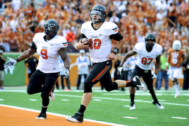 Oklahoma State vs. Texas: Live Score and Highlights