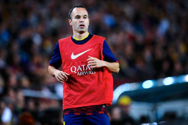 Andres Iniesta Waiting for New Barcelona Offer, Negotiations Continue