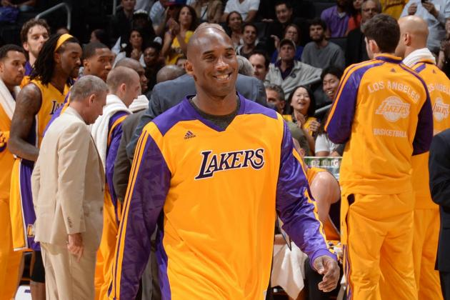 Lakers News: Kobe Bryant's Return to Practice Good Sign for Lake Show