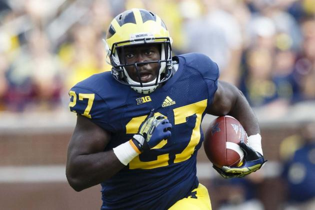 Michigan vs. Northwestern: Wolverines Found Another RB in Freshman Derrick Green