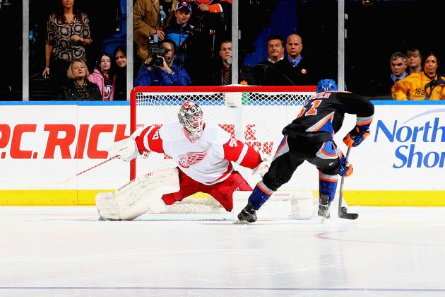 Islanders Send Red Wings to 6th Straight Loss