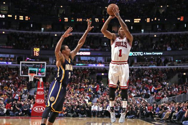 Rose, Bulls Hands Pacers First Loss of Season