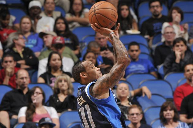 Ellis Leads Mavs to 108-100 Win over Magic