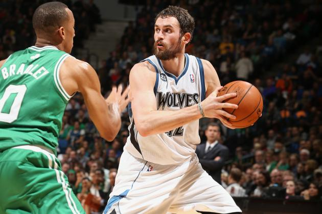 Love, Pekovic Power Wolves over Celtics
