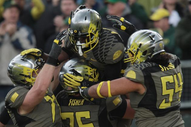 Oregon vs. Utah: Ducks' Offensive Line Woes Are a Concern
