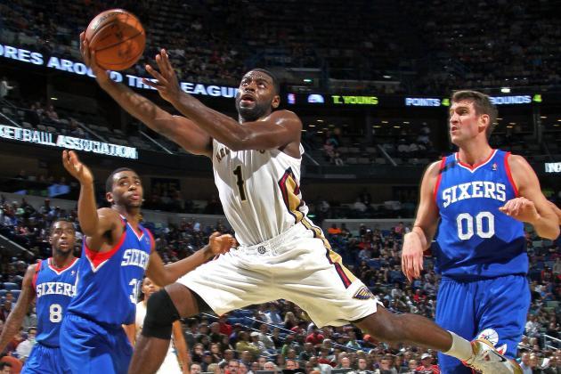 Pelicans Hammer 76ers, 135-98