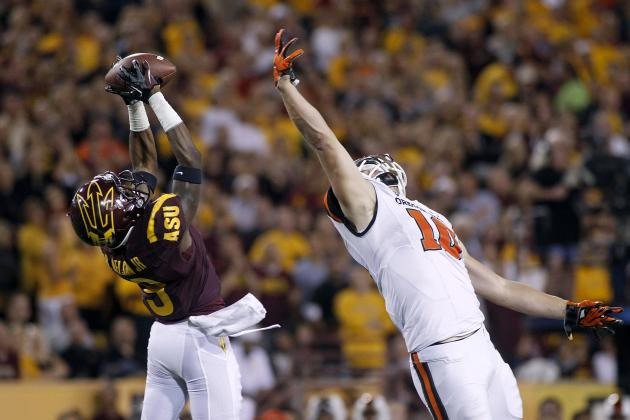 Oregon State vs. Arizona State: Live Score and Highlights