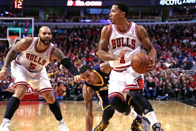 Only Derrick Rose Can Keep Indiana Pacers from Central Division Title