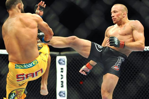 Georges St-Pierre vs. Johny Hendricks Results: GSP Wins by Split Decision