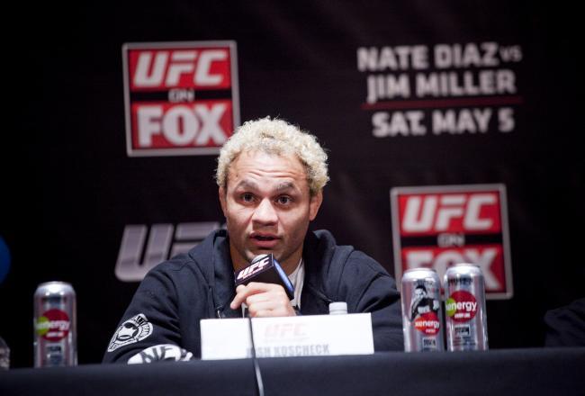 UFC boss White hopes Josh Koscheck sticks around despite retirement ...