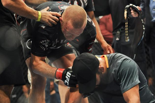 UFC 167: GSP Believes He Took 3 of 5 Rounds from Hendricks