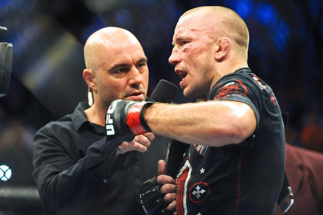 UFC 167: Georges St-Pierre Saves Strangest Twist for Last