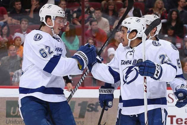 With Stamkos Out, J.T. Brown Scores First NHL Goal
