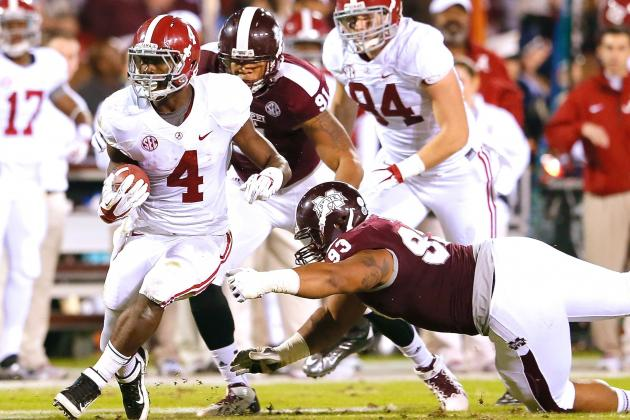 Alabama vs. Mississippi State: Even When Things Don't Work for Tide, They Roll